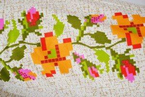 model flori portocalii