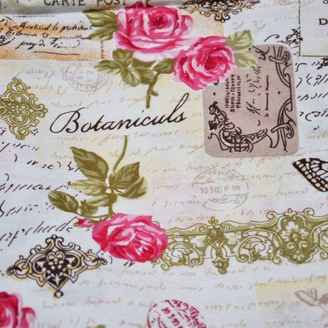 Scrisori, fluturi si flori pe roz