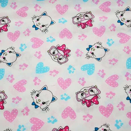 Pisici roz si bleu