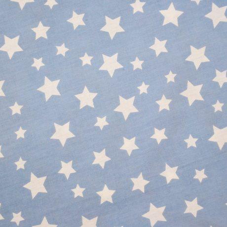 Stele albe pe bleu